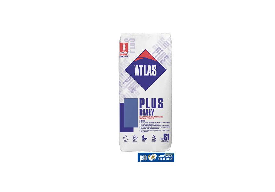 Atlas Plus Biały Klej Wysokoelastyczny 2 10mm 25kg
